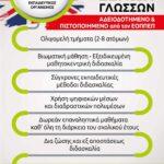 ΕΓΓΡΑΦΗ ΣΤΟ ΚΕΝΤΡΟ ΞΕΝΩΝ ΓΛΩΣΣΩΝ